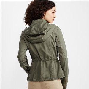 Aeropostale Olive Green Utility Jacket